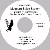 The Magnum Sales system Liquor Store Software.