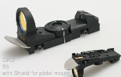 OKO Red Dot Sight for Specialty Mount w/ blast shield